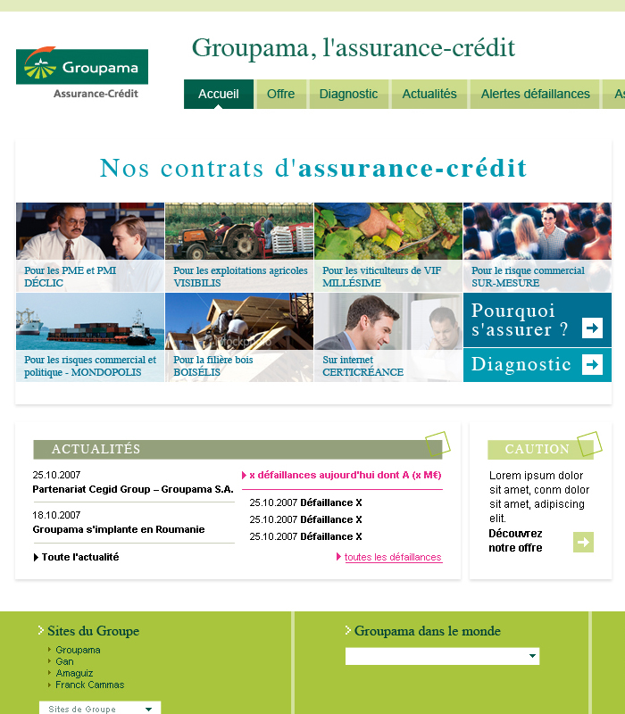 Groupama Assurance Crédit